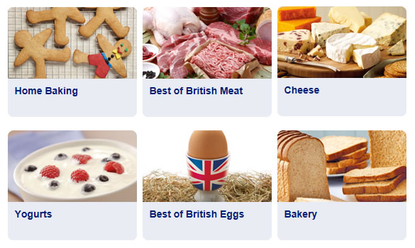 Aldi Fresh and Bakery - Home Baking, British Meat, Cheese, Yogurts, British Eggs, Bakery