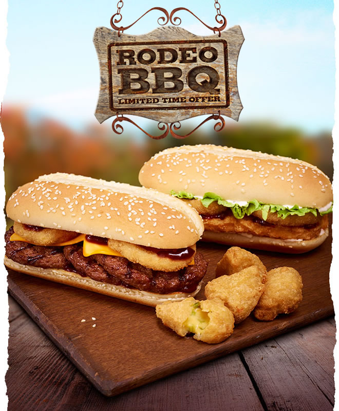 Burger King Rodeo BBQ - Limited Time Offer!