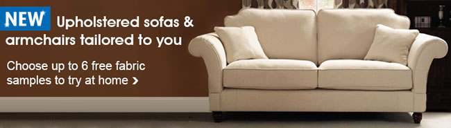 Dunelm's new made to order sofa collection