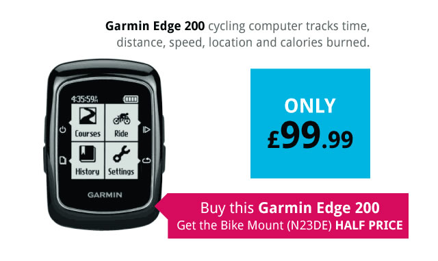 Garmin Edge 200 GPS Cycling Computer