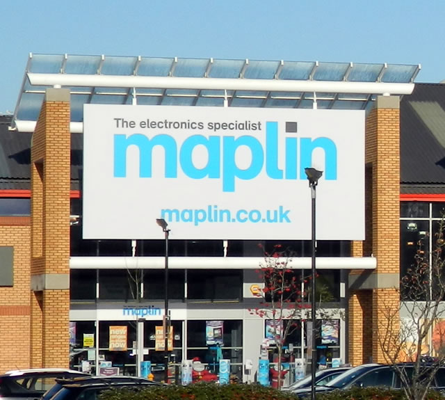 Maplin, the Electronics Specialist