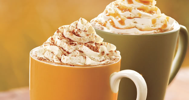 Starbucks Coffee Fall Flavours